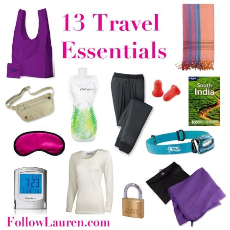 Travel Essentials Graphic