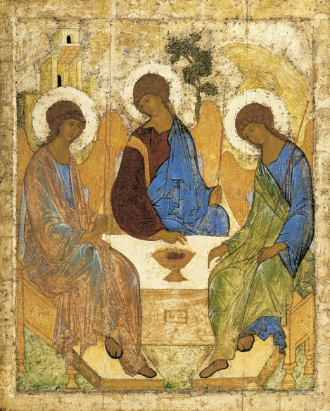 The Trinity, by Andrei Rublev