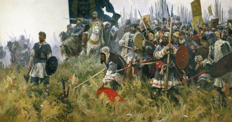The Battle of Kulikovo